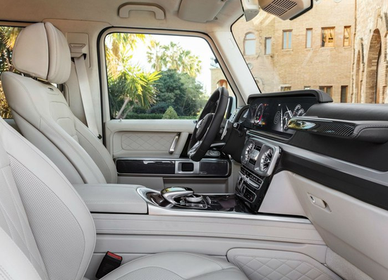19款奔驰G500现车最新优惠行情 先声夺人
