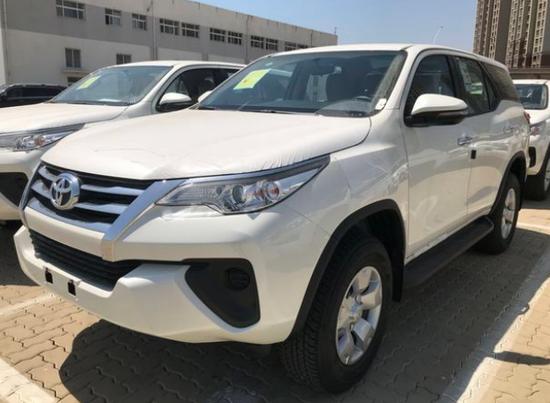 2018款丰田穿越者纯进口中型越野SUV