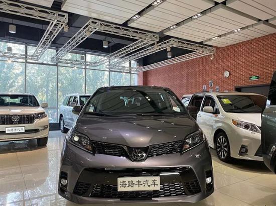 丰田塞纳四驱SE加拿大版2020款优惠出售