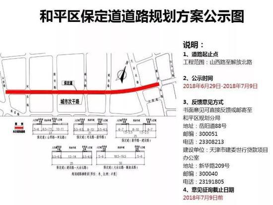 改造路段:山西路——河北路