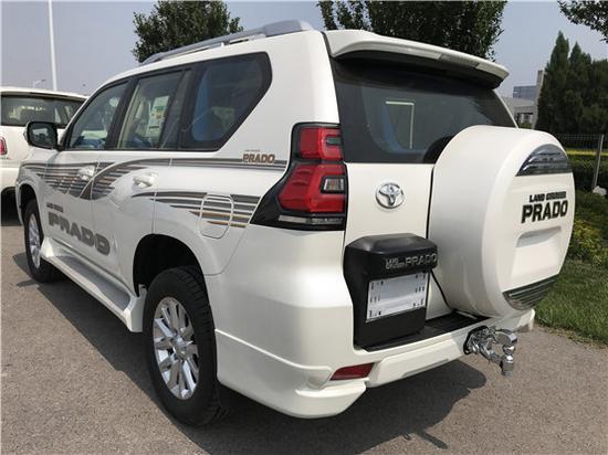 天津中东版18款霸道4000现车钜惠,天津进口普拉多最低