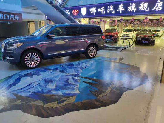 地址:天津港保税区森扬国际汽车城负一层哪吒汽车展厅图片