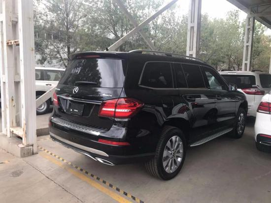 2019款奔驰GLS450顶级七座时尚SUV