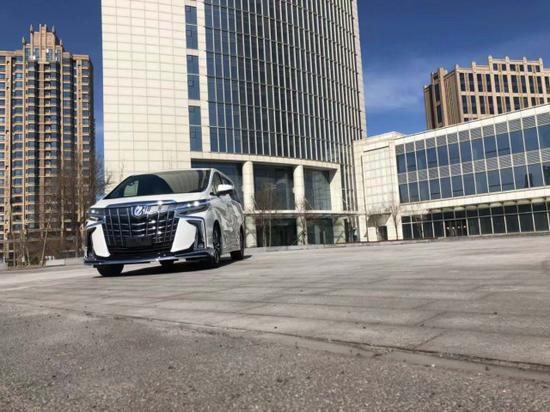 丰田埃尔法商务保姆车港口减价直销出售