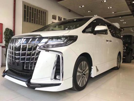 19款丰田埃尔法蒙娜丽莎鸿锦版商务新车