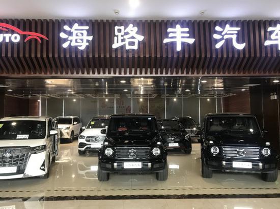 平行进口宝马X7家族风格 现车最新优惠中