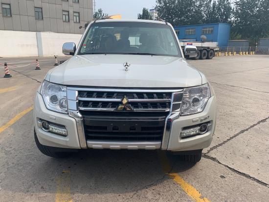 三菱帕杰罗v97金标顶配 天津港批发出售