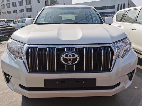 19款丰田普拉多4000迪拜版天津港促销价