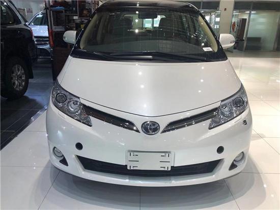 2019款丰田普瑞维亚2.4价格七座商务车