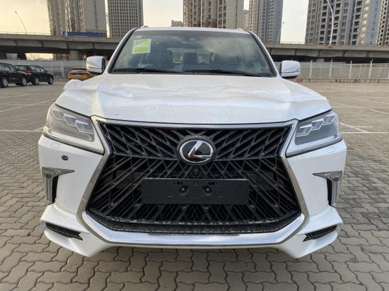 2020款雷克萨斯LX570巅峰限量版到店价格