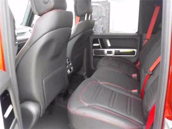 2020款奔驰G500红色最新报价天津可分期