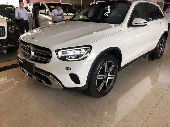 20款奔驰GLC300港口国五清库国六预售中