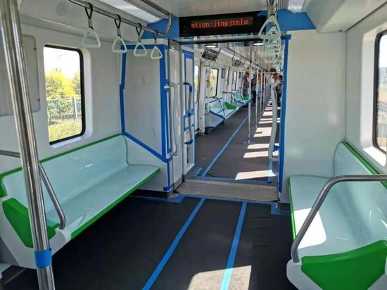 天津地铁4号线南段新车来了!开通还远吗?
