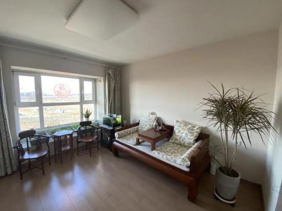 两个人在天津的新家