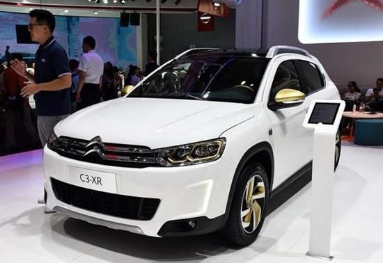 雪铁龙新款C3 XR配置曝光 11月11日上市高清图片
