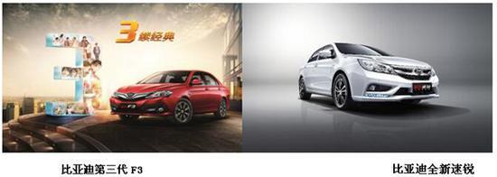 家轿双星时尚变身 F3&速锐全新风貌再得市场认可