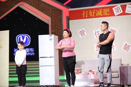 撒贝宁欢乐中国人图片_撒贝宁化妆出彩中国人_欢乐中国人第一季