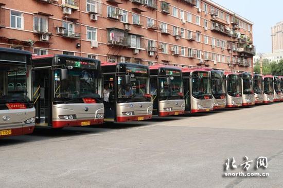 天津公交评选出清洁标兵线路
