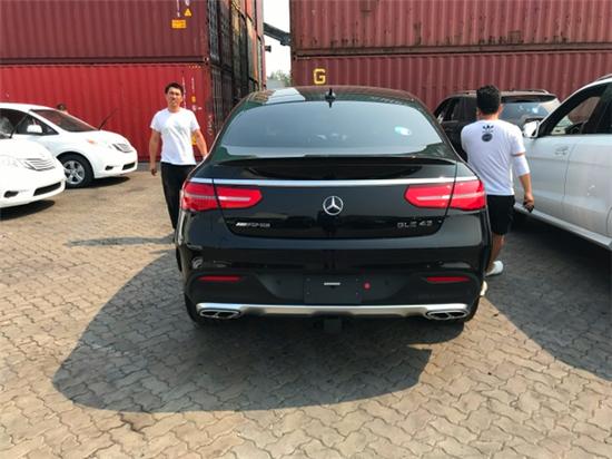 2018款奔驰GLE43 Coupe全新运动型智能座