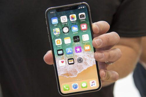 图为iPhone X