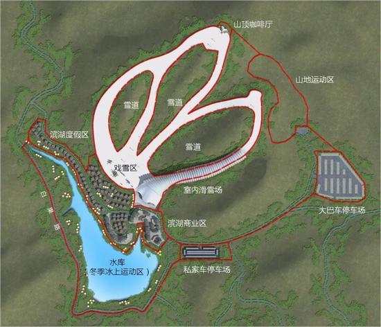 项目规划布局图