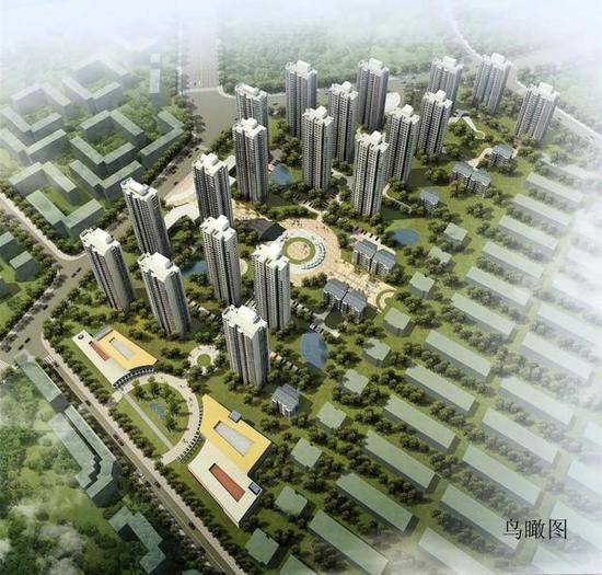 南北程林还迁项目规划图