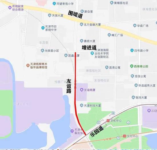 天津近期施工禁行路段汇总包括多条主干道路
