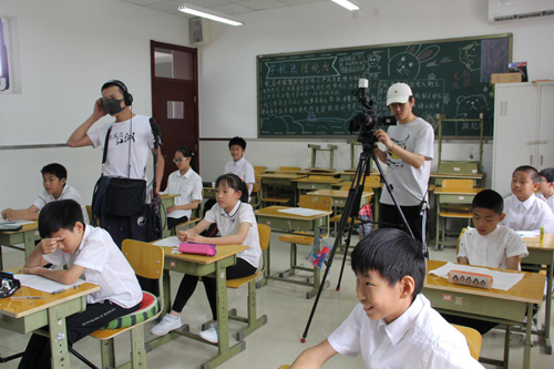 艺术中心为响应中国关心下一代工作委员会教育发展中心所启动的关爱追图片