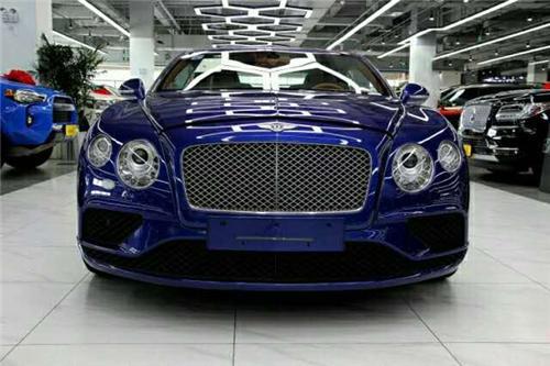 2020款宾利欧陆GT 天津展位现车惊喜报价