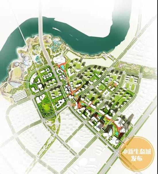 生态城城市主中心建在这里 周边建大型体育场