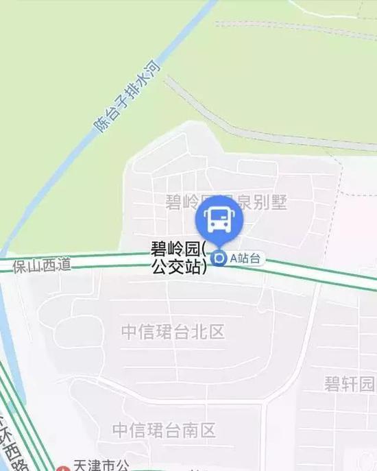 保泽道公交车站