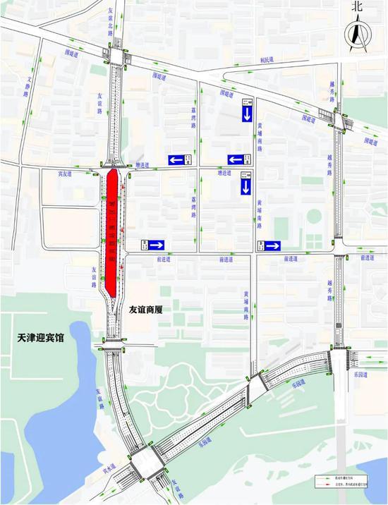 天津这段道路封闭施工 历时2年