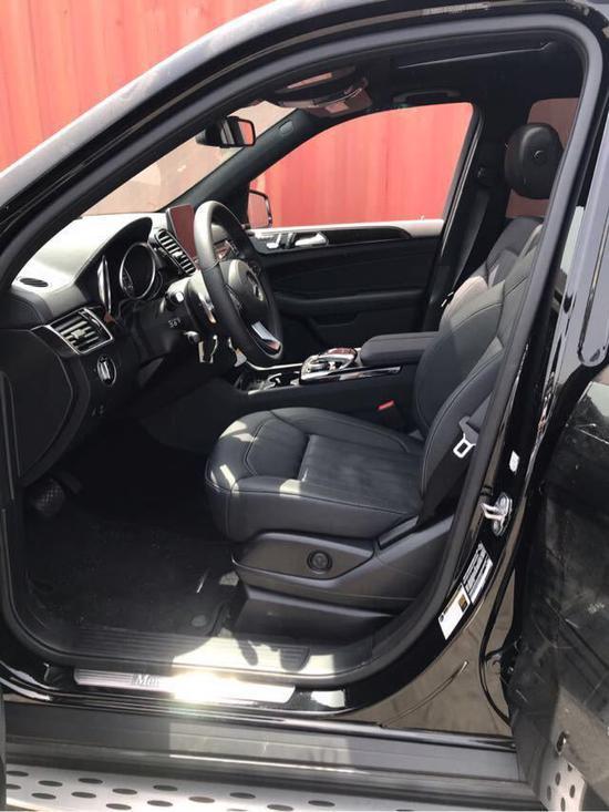 18款奔馳GLS450 美規版進口SUV價格實惠