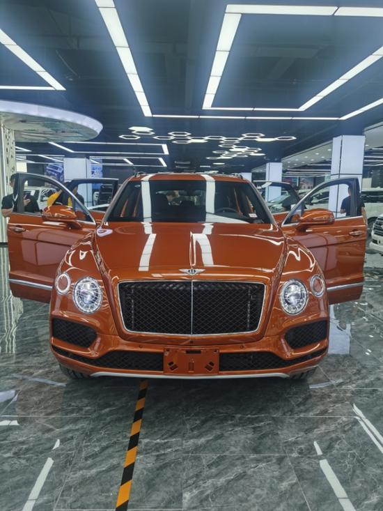 20宾利添越4.0T顶级奢华SUV现车特惠促销