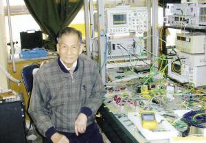 杨恩泽(图片由受访者提供 拍摄于2011年)