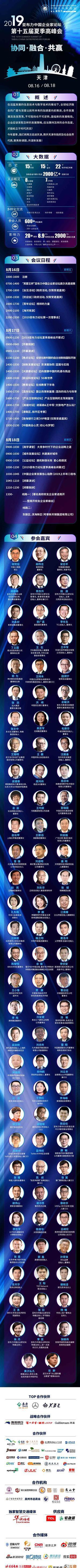 亞布力論壇2019年夏季高峰會在津召開
