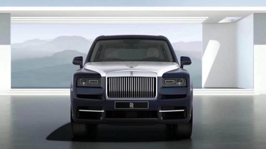 2020款劳斯莱斯库里南SUV英国皇室的珠宝