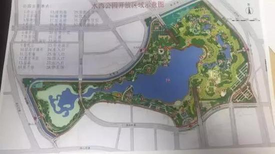 """""""3区21景""""的湿地生态园林"""