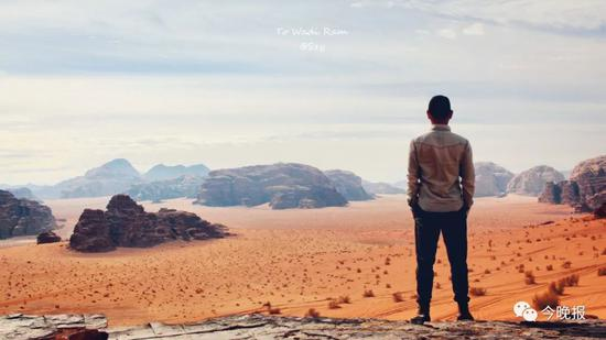 摄于约旦瓦迪拉姆红沙漠