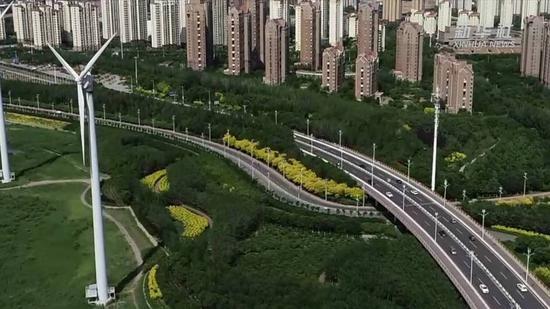 """【五中全会精神在基层】中新天津生态城:一座""""绿色之城"""""""