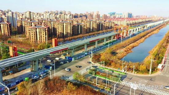 天津这条地铁部分站点公布