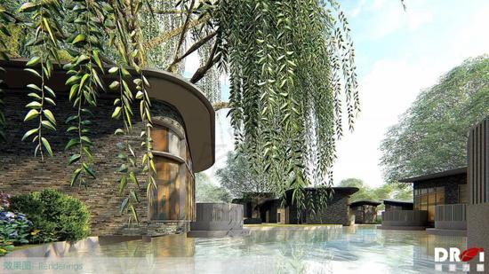 葫芦窝理想村建成后效果图