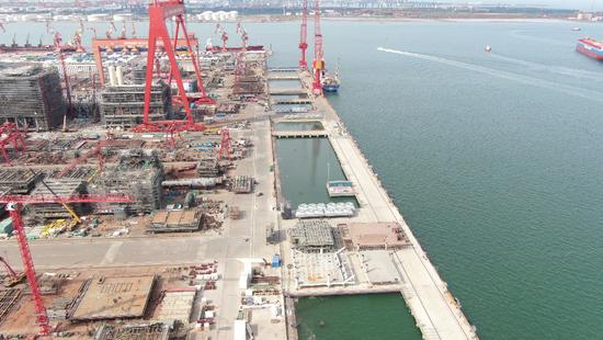 ▲临港博迈科2号码头工程项目