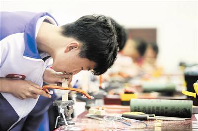 天津中小学劳动技能大比拼