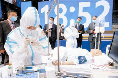 第十届中国大学生医学技术技能大赛在津落幕 冠军争夺赛模拟实
