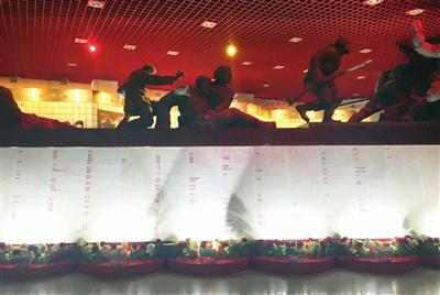 烈士名录墙图片由平津战役纪念馆提供
