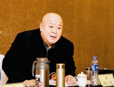 市政协委员杨光发言。