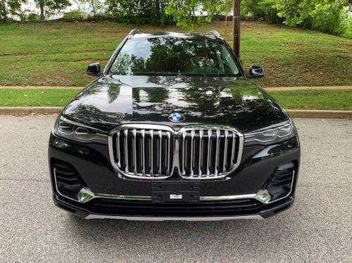2020款宝马X7全新旗舰SUV 舒适度提升