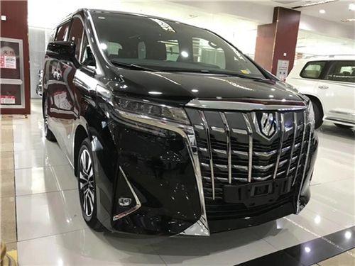 2019款丰田埃尔法高端低调商务车报价低图片