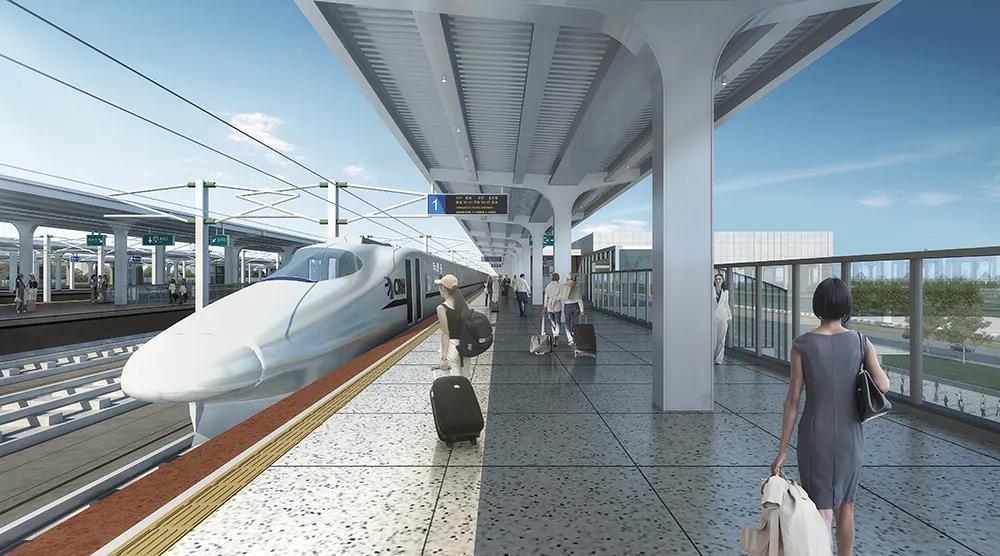 天津新增两条城际铁路!明年建成通车!